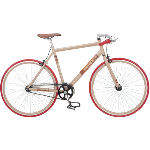 700c Mongoose Sinsure Urban Single Speed Mens Bike