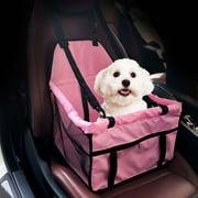 Portable Dog Car Seat Belt Booster Oxford Travel Bags Folding Pet Carrier