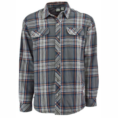 White Sierra Baz Az Plaid Shirt Jacket - Men's