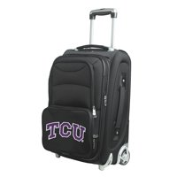 """TCU Horned Frogs 21"""" Rolling Carry-On Suitcase"""