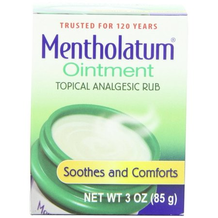 Mentholatum Original Topical Analgesic Ointment Aromatic Vapor Rub -