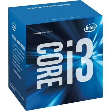 Intel Core i3 i3-6100 Dual-core (2 Core) 3.70 GHz Processor - Socket H4 LGA-1151Retail Pack - 512 KB - 3 MB Cache - 8 GT/s DMI - 64-bit Processing - 14 nm - 3 Number of Monitors Supported - Intel HD G (Intel Core I3 Socket 1156)