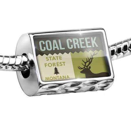 Bead National Us Forest Coal Creek State Forest Charm Fits All European Bracelets
