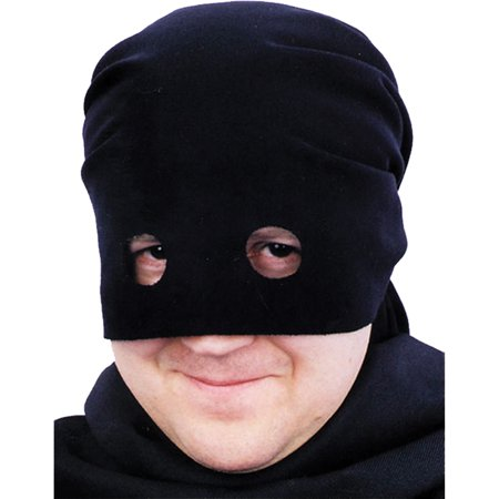 Morris Costumes Black Bandit Head Scarf Adult Halloween Accessory