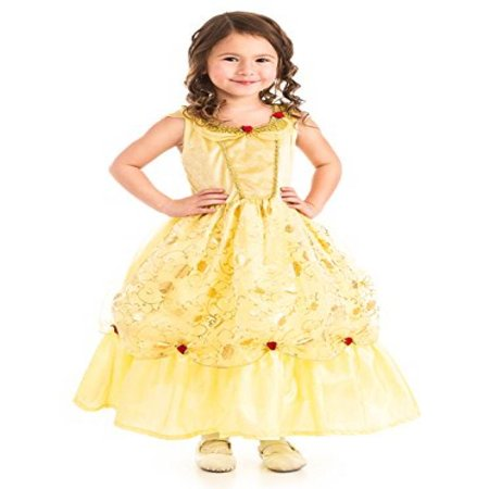 Yellow Beauty Belle No Itch Dress Gown Med (3-5)