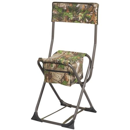 Hunters Specialties Camo Furniture Dove Chair with Back, Realtree Xtra Green