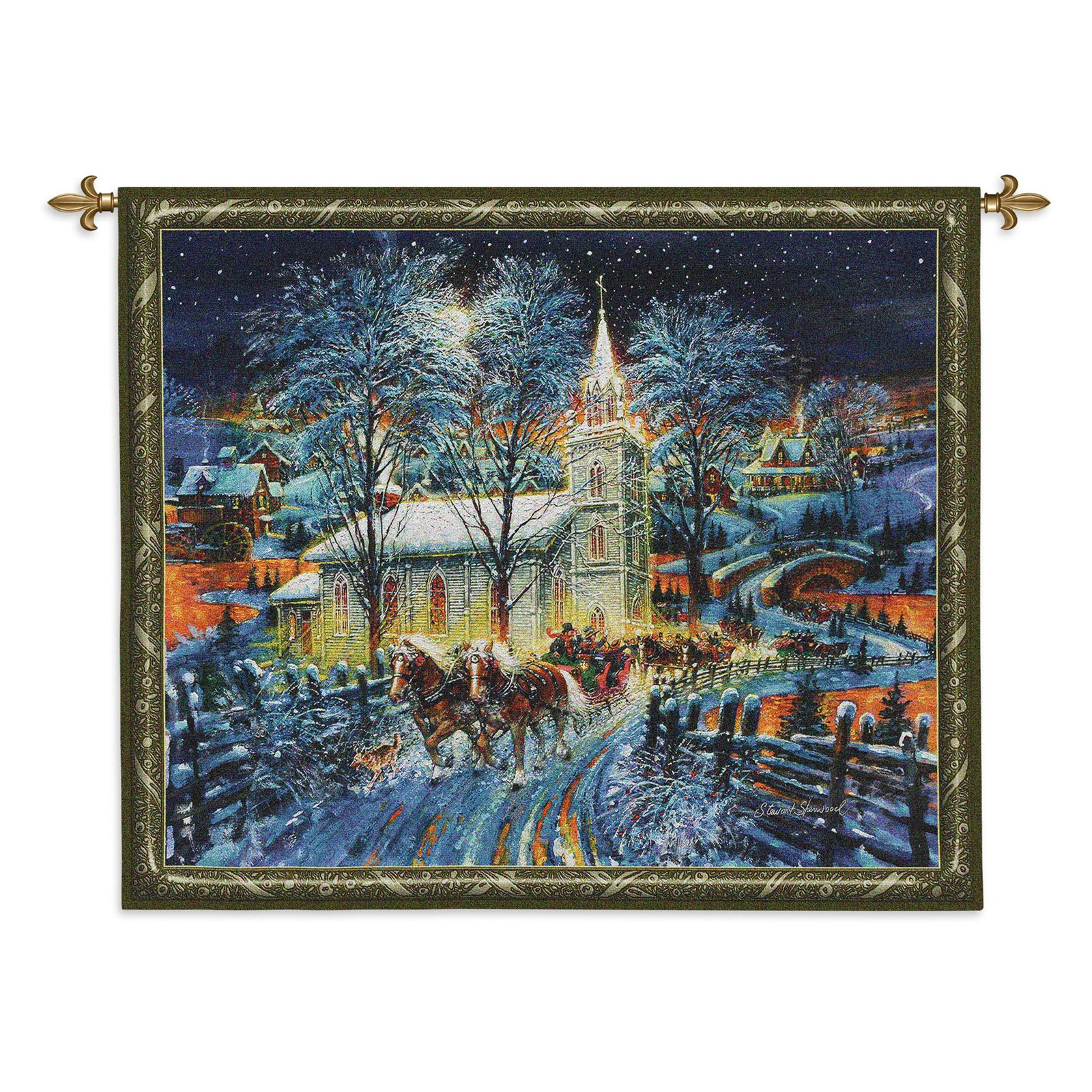Fine Art Tapestries Midnight Clear Wall Tapestry by Supplier Generic