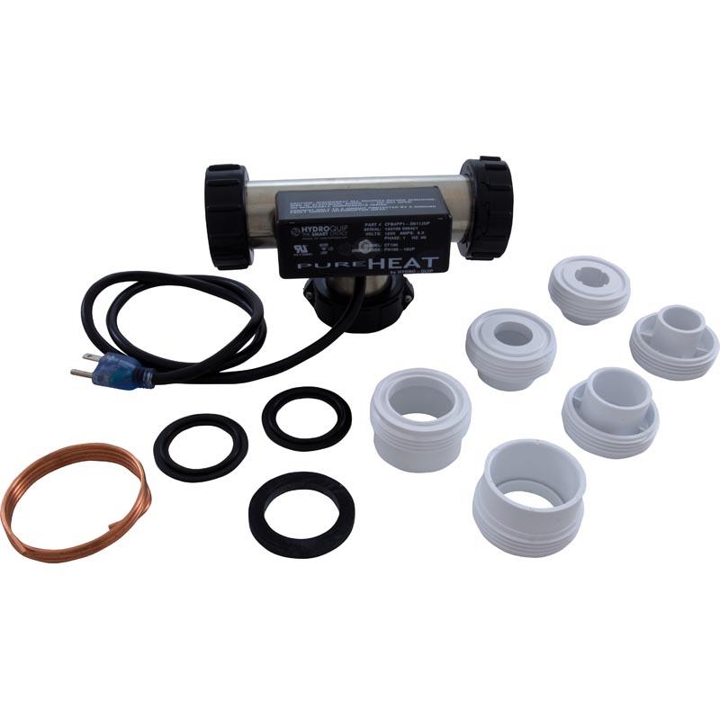 Heater, Bath, H-Q T Style, PH100-A, 115v, 1.0kW, 3ft Cord, Plug by Hydro-Quip