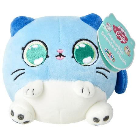 Kitten Catfe Meowable Scented Plush - Blue Gray