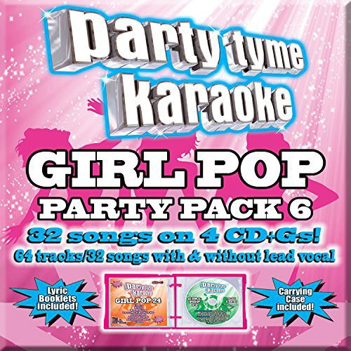 Party Tyme Karaoke: Girl Pop Party Pack 6