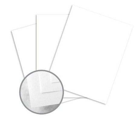 CLASSIC CREST Solar White Card Stock - 8 1/2 x 11 in 80 lb Cover Super Smooth 250 per Package