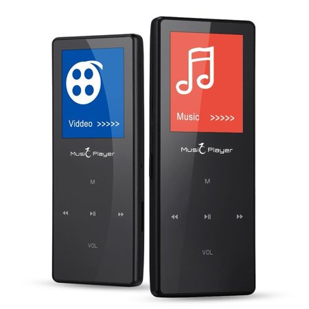 HONGYU Touch button HIFI Lossless Sound Bluetooth Sport MP3 MP4 Music Player 1.8 inch FM Radio Voice recording E_book Pedomet