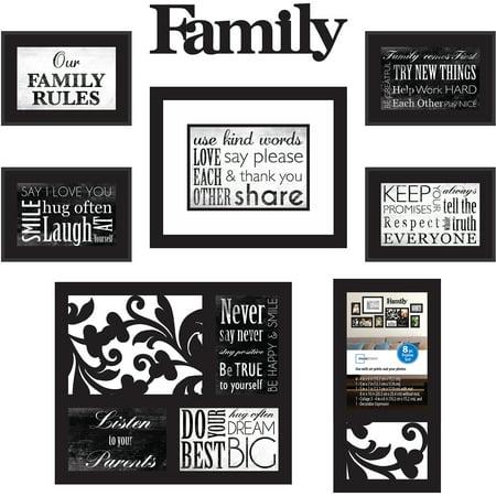 Mainstays 8-Piece Family Frame Set - Walmart.com
