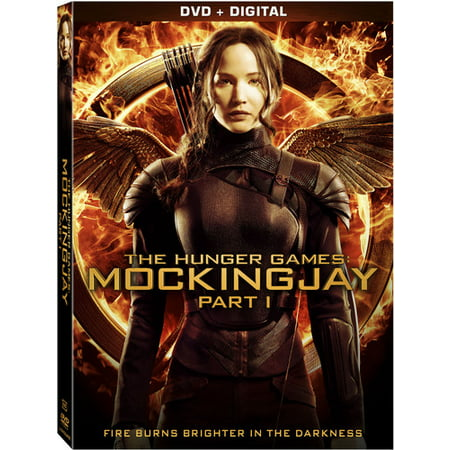 The Hunger Games: Mockingjay - Part 1 (DVD + - Hunger Games Girl On Fire