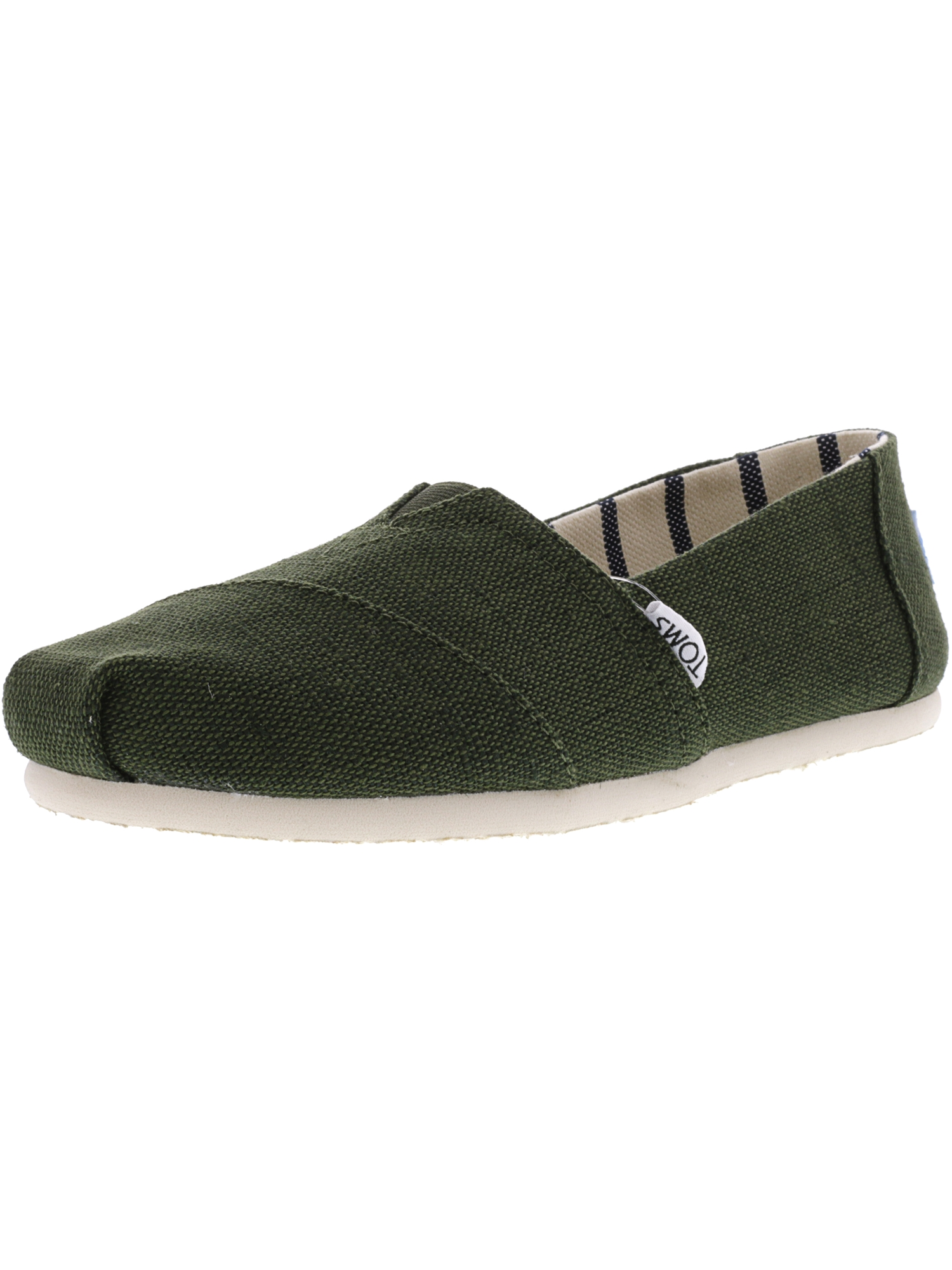 aa852859d2c Toms - Toms Women s Classic Heritage Canvas Majolica Blue Ankle-High  Slip-On Shoes - 7.5M - Walmart.com