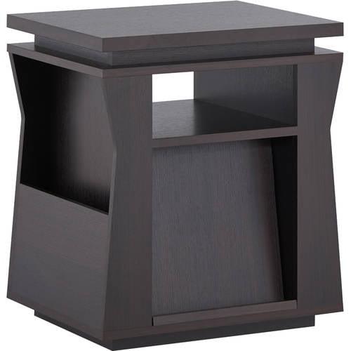 Furniture of America Menko Magazine Rack End Table, Espresso by Furniture of America