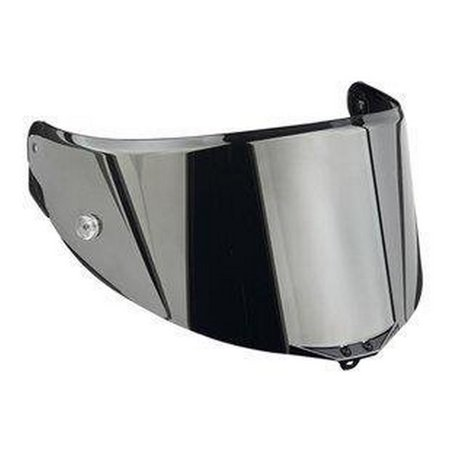AGV Anti-Scratch Shield for Pista Helmet - Irridium Silver KV0A6N1004 Agv Anti Scratch Shield