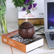 Ejoyous 130ML Humidifier, LED Aroma Ultrasonic Humidifier USB Essential Oil Diffuser Air Purifier