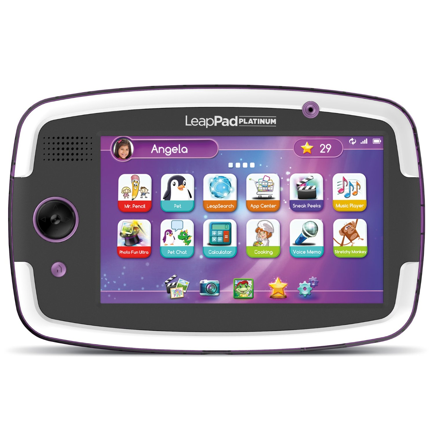 LeapFrog LeapPad Platinum Kids Learning Tablet, Purple