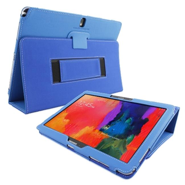 Snugg B00KTHSK60 Galaxy Note PRO 12. 2 Case Cover and Flip Stand, Electric Blue Leather