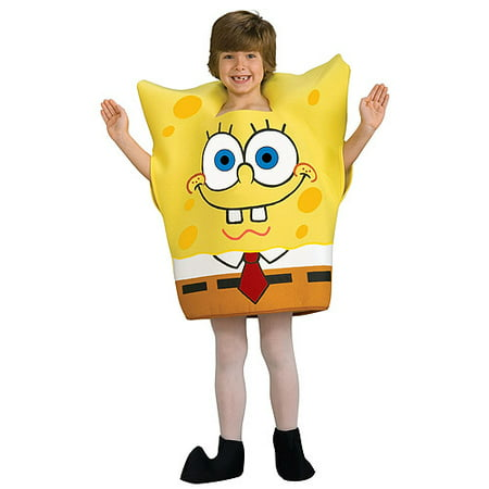 Spongebob Toddler Halloween Costume (Homemade Spongebob Halloween Costume)