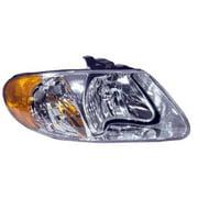 Go-Parts OE Replacement for 2001 - 2007 Dodge Grand Caravan Front Headlight Assembly Housing / Lens / Cover - Right (Passenger) Side 4857700AC CH2503129 Replacement For Dodge Grand Caravan