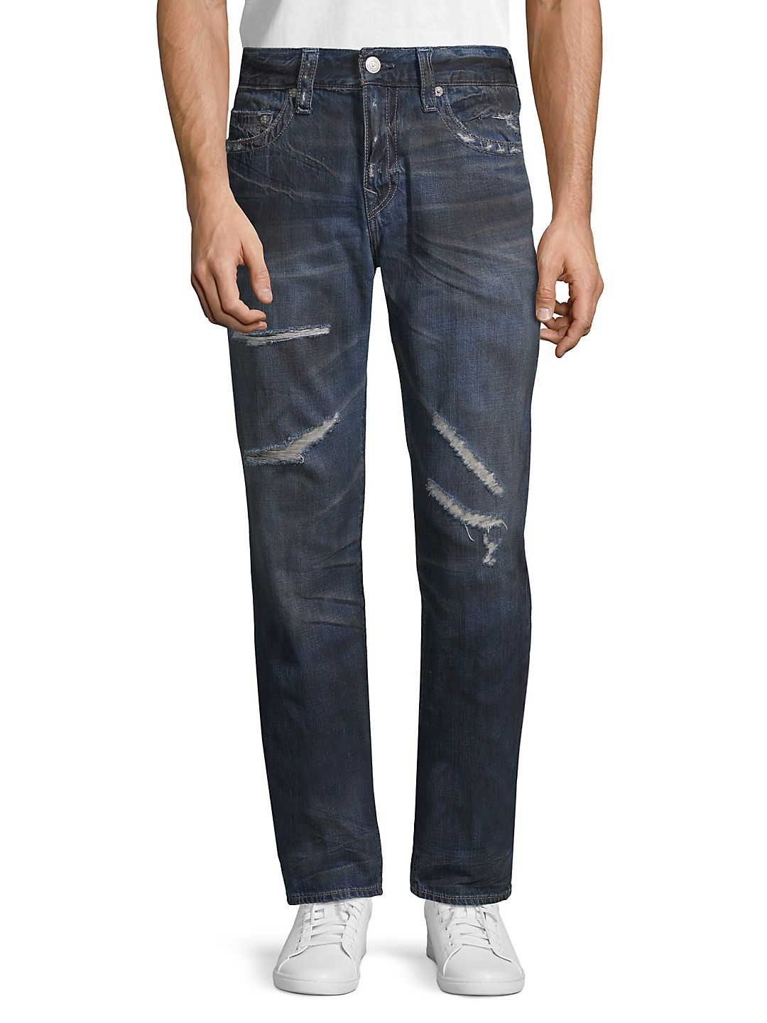 D Rocco Midnight Storm Slim-Fit Jeans
