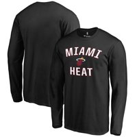 26a994fe Product Image Miami Heat Victory Arch Long Sleeve T-Shirt - Black
