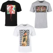 Grenade Mens Snowboard Graphic T-Shirt 3 Pack