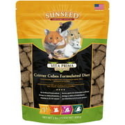 Sunseed® Vita Prima? Sunscription Critter Cubes Formulated Diet Small Animals Food 2 Lbs