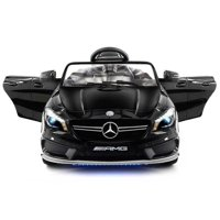 2018 Licensed Mercedes AMG 12V Battery Ride on Toy Car w/ Dining Table, LED Lights, Openable Doors