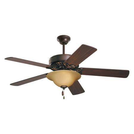 Emerson CF713 Pro Series ES 50 in. Indoor Ceiling Fan Emerson Steel Contemporary Ceiling Fan