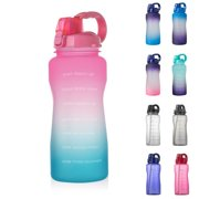 Happybear Outdoor sports bottle with bounce and straw