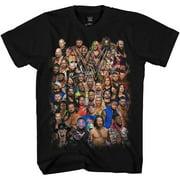 WWE Group Shot John Cena Big Show AJ Styles Daniel Bryan Adult Men's Graphic Tee T-Shirt…