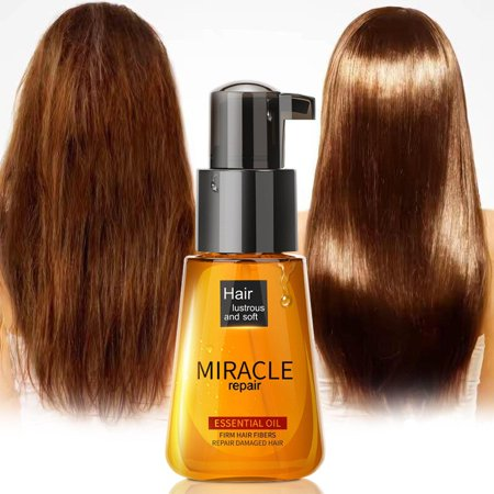 Morocco Argan Oil Hair Care Essence Nourishing Repair Damaged Split Frizzy