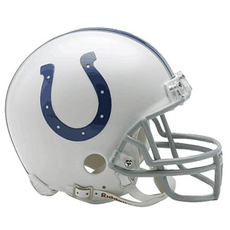 (NFL Indianapolis Colts Replica Mini Football Helmet, Plastic By Riddell)