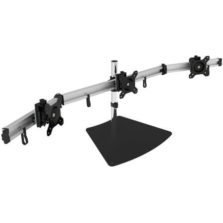 SIIG Easy-Adjust Triple Monitor Desk Stand – 13