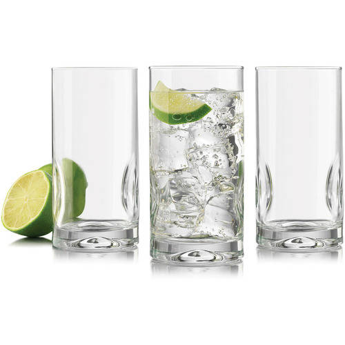 Libbey Glass Intuition Cooler Glass, 8-Pack