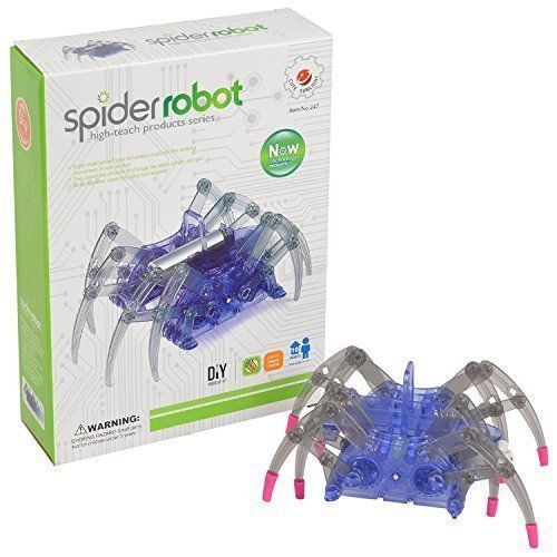 Kids Toy Spider Robot Moving Interactive Educational Fun Acrobatic Science Kit