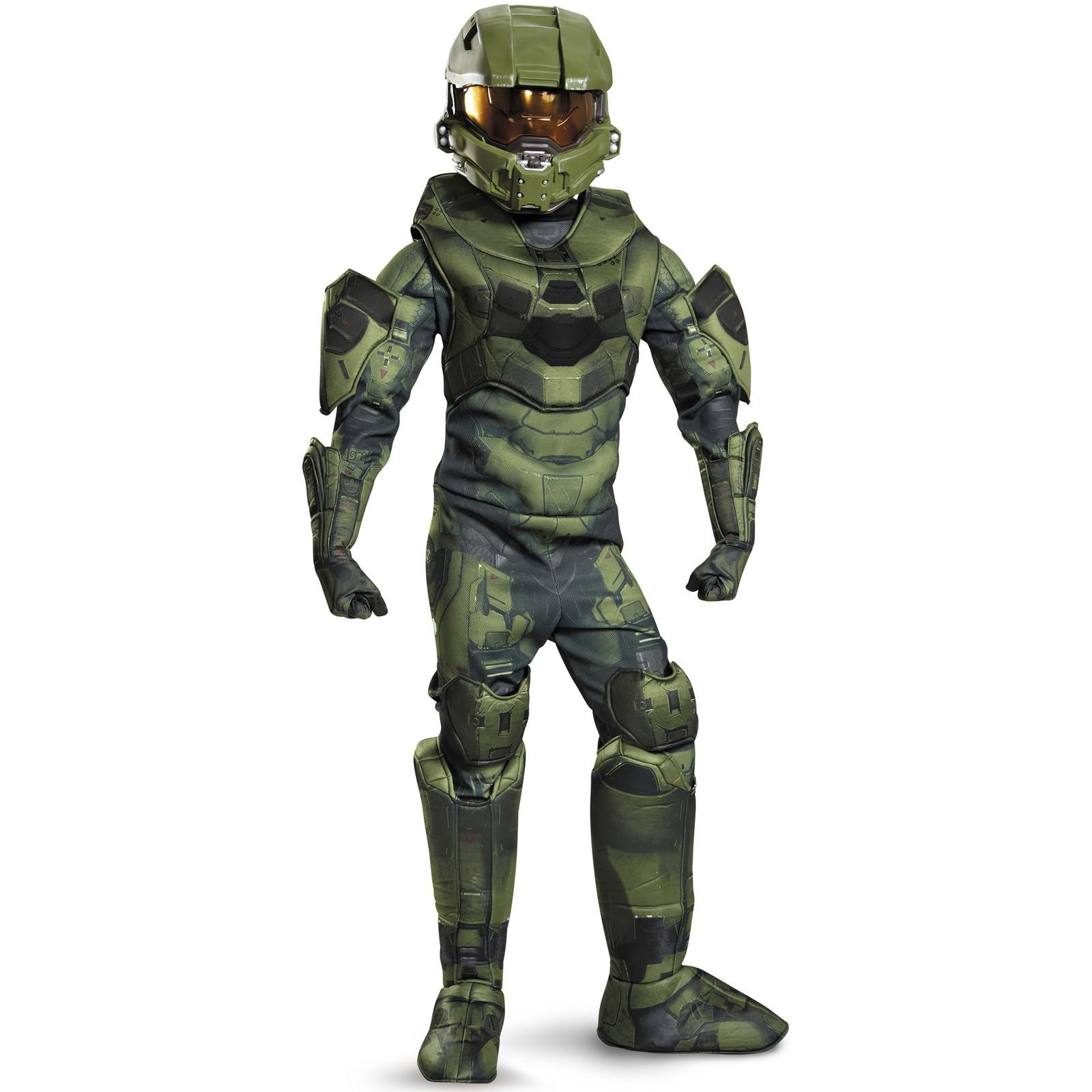 sc 1 st  Walmart.com & Halo Prestige Master Chief Child Halloween Costume - Walmart.com