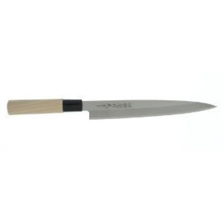 Happy Sales HSSR400, Japanese Long Sashimi Sushi Knife, 210 -