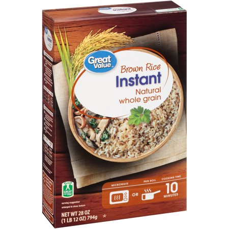 Great Value Instant Brown Rice, 28 oz (Best Mexican Rice In A Box)