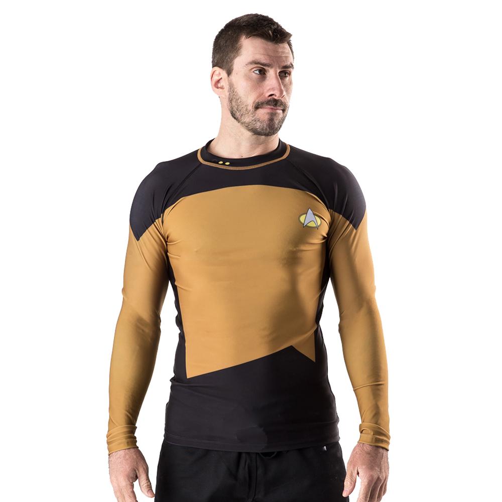 Fusion Fight Gear Star Trek TNG Long Sleeve Rashguard - M...