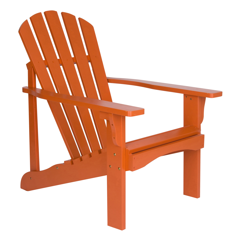 Shine Company Rockport Adirondack Chair - Rust