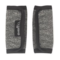 Evenflo Reversible Harness Covers Accessory, Grey Melange