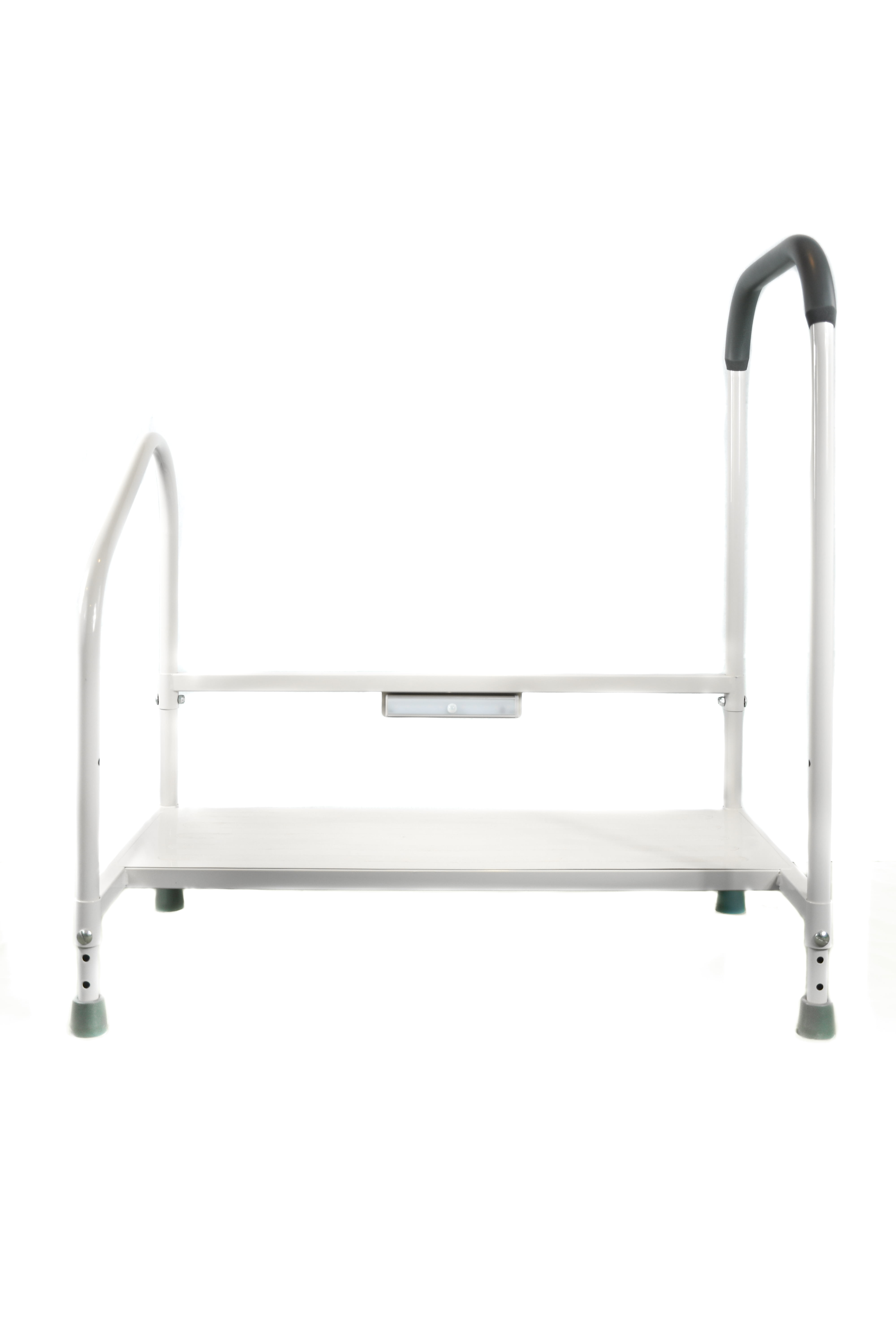 Bed Step Stool: Step2Bed Bed Hand Rail Adjustable Height Bed Step Stool