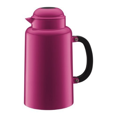 Bodum Chambord 34-Ounce Thermo Double Wall Vacuum Carafe, Pink by