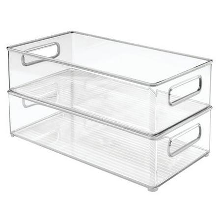 InterDesign Deep Fridge and Freezer Binz Food Storage Container Set