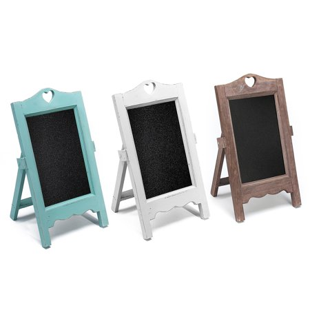 Aimeeli Rustic Wooden Framed Table Top Standing Mini Chalkboard Sign Chalk Board Surface for Vintage Decor for Kitchen, Restaurant, Bar, Wedding, and Home 5