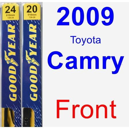 2009 Toyota Camry Wiper Blade Set/Kit (Front) (2 Blades) - Premium